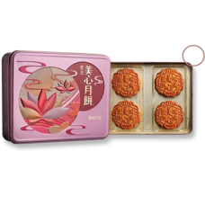 Maxim Red Bean Paste Moon Cake with 2 Egg Yolks
